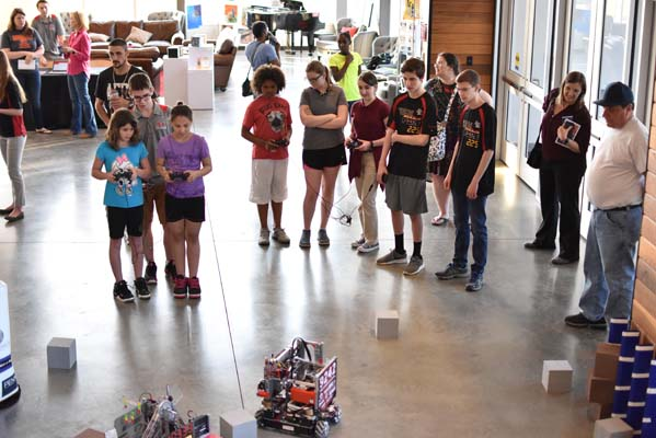 YCDS Robotics Expo Night