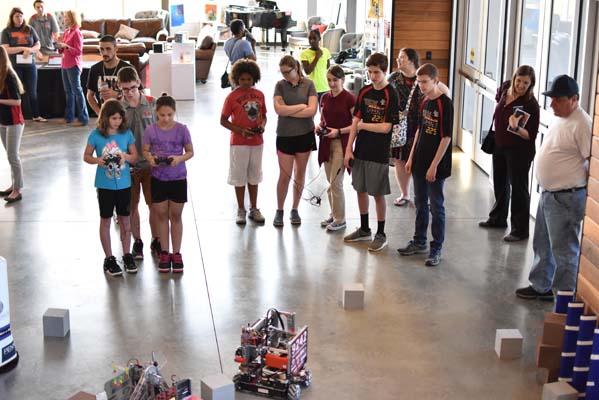 YCDS Robotics Expo Night