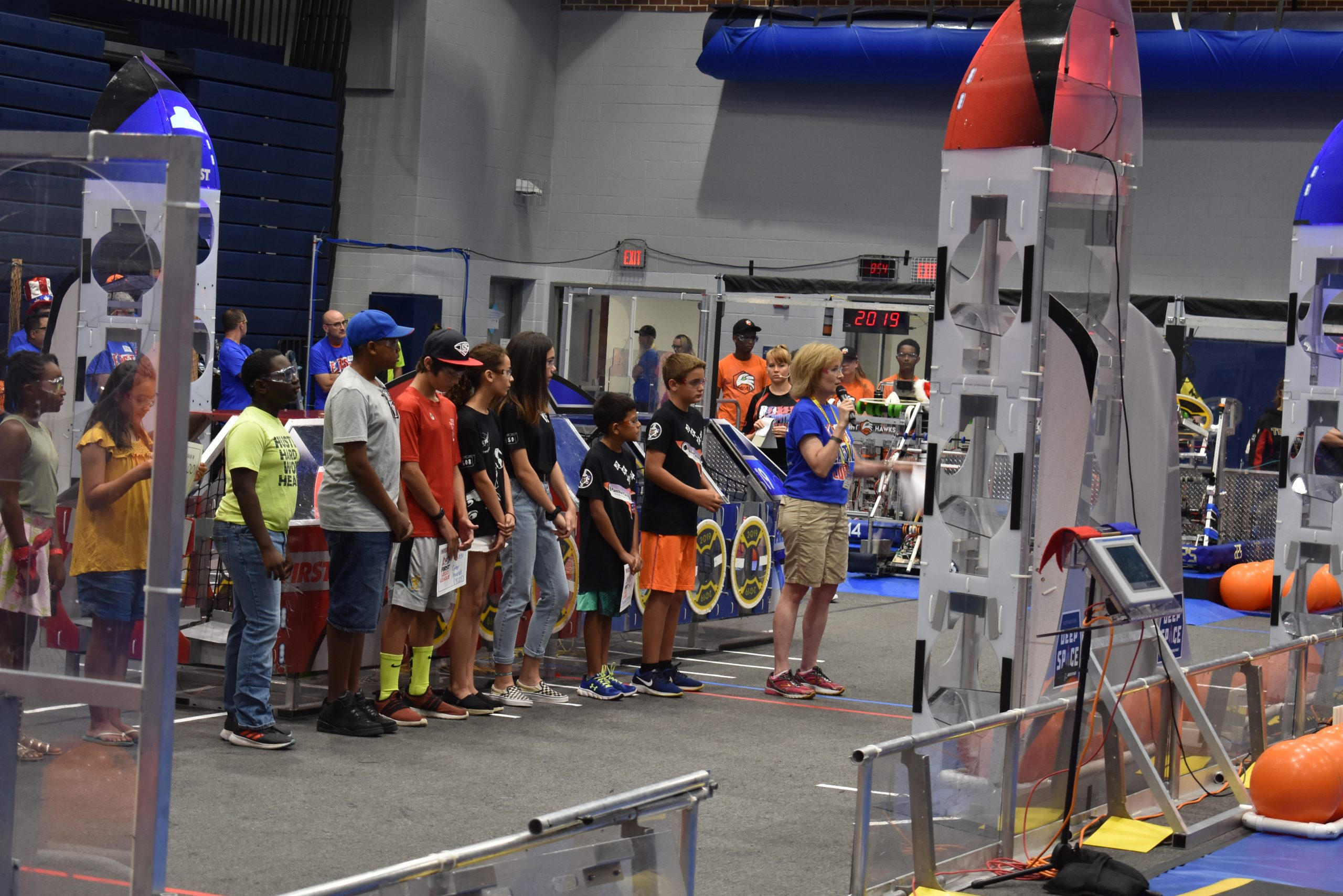 FRC event at DHS